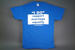 """ 'I do' support marriage equality"" t-shirt"