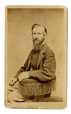 Portrait of a man with full beard
