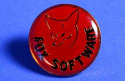 Fox Software Lapel Pin