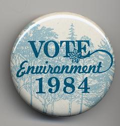 Vote // Environment // 1984