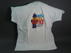 """A Simple Matter of Justice"" LGBTQ t-shirt"