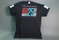 """ADA 25"" t-shirt"