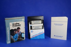 Educational Software for Use with the Commodore 64 Microcomputer, Reading Professor