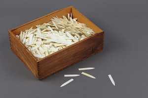 images for Wooden Box of Ivory Points Used for Smallpox Vaccination-thumbnail 1