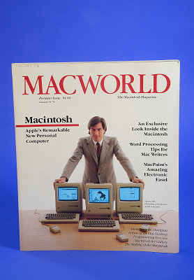 Magazine, Macworld, the Macintosh Magazine Premier Issue, 1984