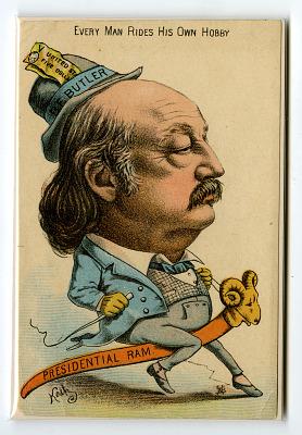 Campaign Postcard, 1884