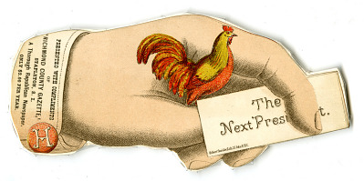 Next President Card, 1880