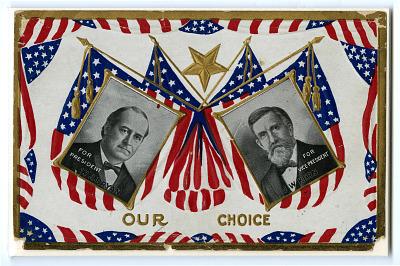 Bryan/Kern Campaign Postcard, 1908