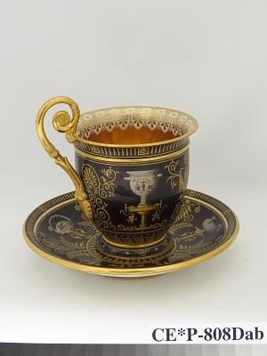 Sèvres porcelain cup and saucer (part of a service)