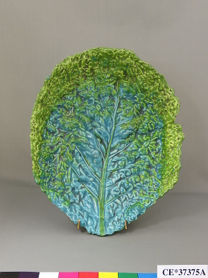 dish, leaf