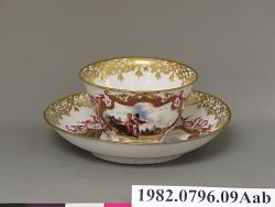 bowl, tea; saucer