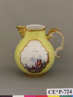Meissen porcelain cream jug