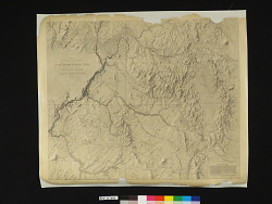 MAP OF / EXPLORATION AND SURVEYS / NEW MEXICO AND UTAH / made under the direction of the / SECRETARY OF WAR / by / CAPT. J. N. MACOMB TOPL ENGRS / assisted by / C. H. DIMMOCK, C. ENGR / 1860