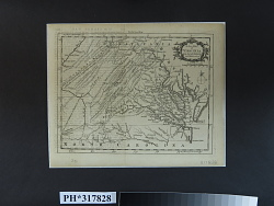 A New MAP / of VIRGINIA from the best authorities: / by T. Kitchin Geogr