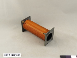 solenoid, air core with copper coils