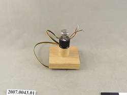 electron tube for mass of the electron experiment