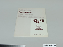 Book 2, Fuel Waste, Nuclear Power and the Environment
