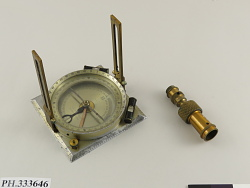 David White Geologist's or Forester's Compass