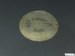 Regina Music Box Disc