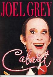 program for Joel Grey 1987 Cabaret tour
