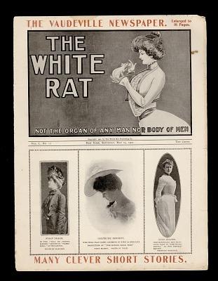 The Vaudeville Newspaper/ The White Rat
