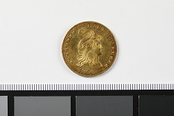 5 Dollars, United States, 1800