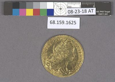 6,400 Reis, Brazil, 1758