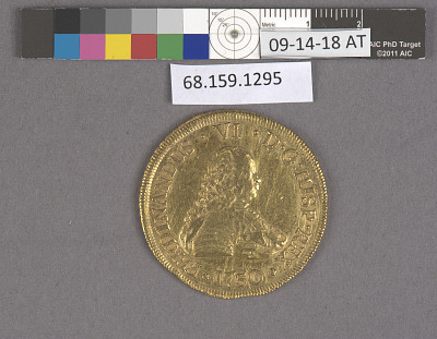 8 Escudos, Chile, 1750