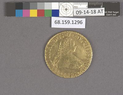 8 Escudos, Chile, 1755