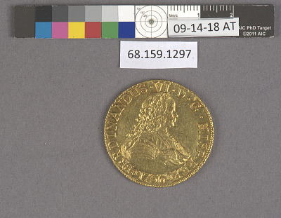 8 Escudos, Chile, 1756