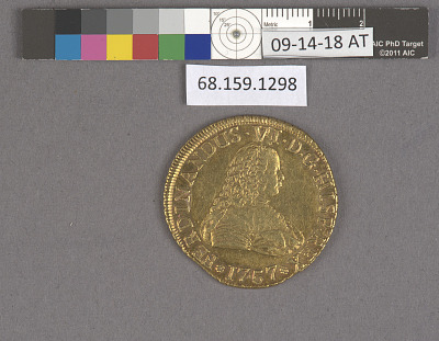 8 Escudos, Chile, 1757