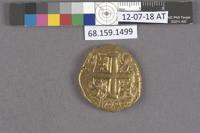 8 Escudos, Peru, 1750