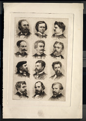 Portraits of Twelve Artists