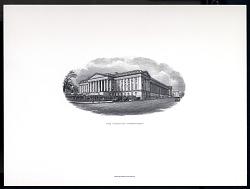 vignettes showing U.S. Government buildings