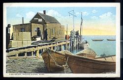 Fish Wharf, Provincetown, Mass.