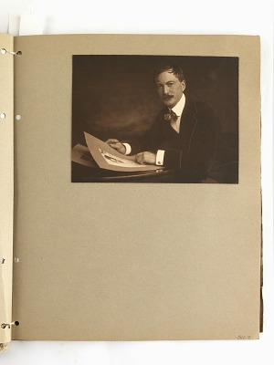 portrait of Rudolf Eickemeyer Jr.