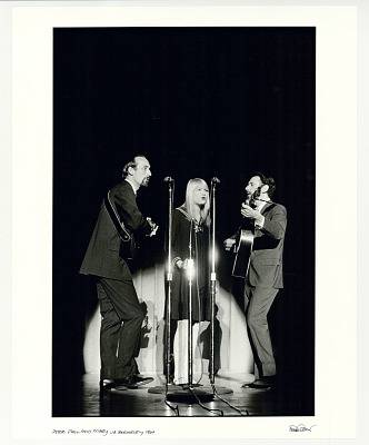 Peter, Paul and Mary, UC Berkeley, 1964