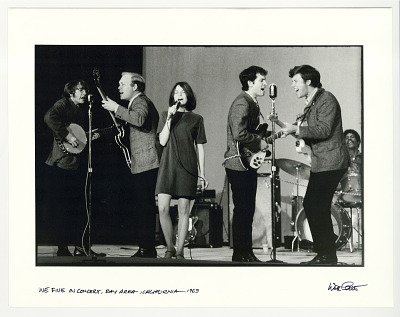 We Five in concert, Bay Area, CA. 1963