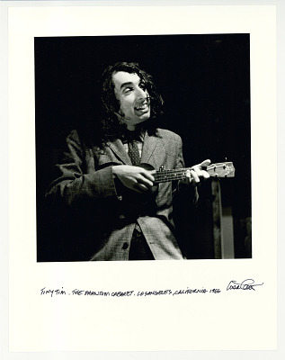 Tiny Tim, The Phantom Cabaret, Los Angeles, CA. 1966