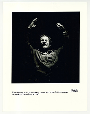 Hugh Romney (Wavy Gravy), The Phantom Cabaret, Los Angeles, 1966