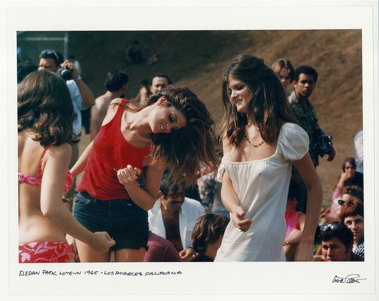 Elesian Park Love-In, 1965. Los Angeles, CA