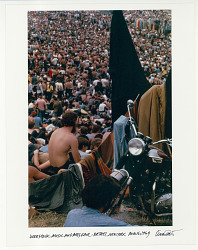 Woodstock Music and Art Fair. Woodstock Festival, Bethel, NY August 16, 1969