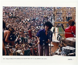 Quill, playing on stage at the Woodstock Music and Art Fair. Bethel, NY August 16, 1969