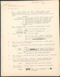 """The New Adventures of Superman"" Script and Storyboard"