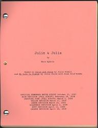 Julie & Julia movie script