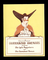 Souvenir Program Turnabout Theatre featuring the Yale Puppeteers and the Turnabout Revues