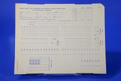 Answer Sheet for Engineering and Physical Science Aptitude Test