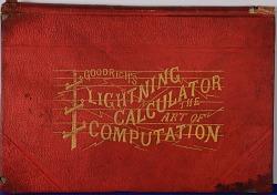 Book, Goodrich's Lightning Calculator The Art of Computation