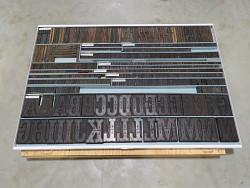 wood type, batch of
