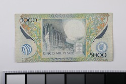 5,000 Pesos, Colombia, 2012